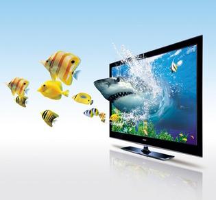 海尔投影机:海尔全球首推3D无尾电视