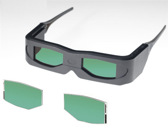 东芝投影机:东芝发布主动3D眼镜用OCB液晶面板