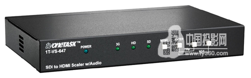 3T投影机:TV One 发布1T-VS-647 SDI 至HDMI 带音频倍线器