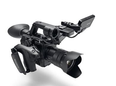 索尼隆重推出全新手持式4K Super 35mm超级慢动作摄影机PXW-FS5卓越的手持式拍摄和完善的创作控制能力