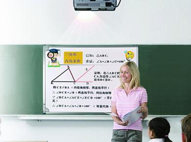 普乐士投影机:PLUS(普乐士)高精度红外CCD影像定位技术白板