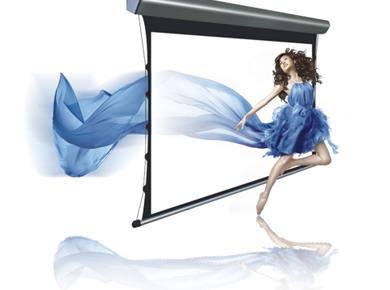 投影机前景大好 银幕厂商面临市场机遇