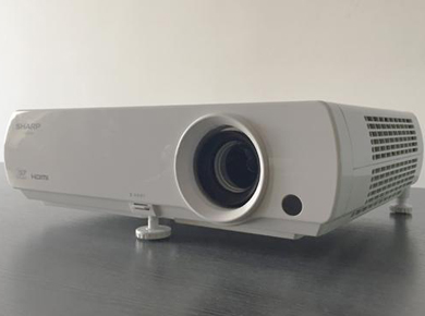 夏普投影机:Sharp夏普XV-FZ400A家庭影院机应用体验