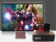 大屏客厅投影电视 轰天炮超短焦LCD液晶投影机ZB-S666终极评测