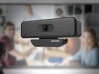 视频会议新产品--小身材,大视野   海康威视4K会议摄像机全新发布
