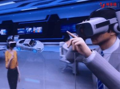 虚拟仿真新品--世界VR大会 | 利亚德900m²显示屏点亮中国VR第一城