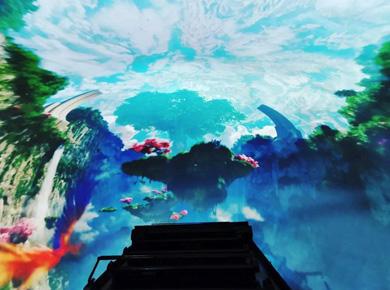 虚拟仿真新品--赢康助力首望科技720穿越飞船,成就高沉浸感飞行影院