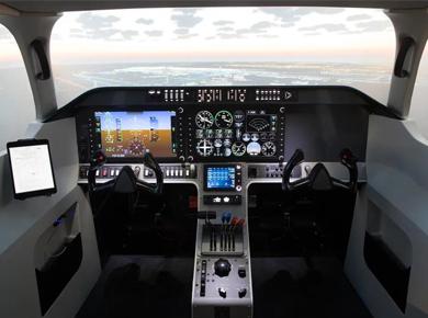 虚拟仿真新品--明基与法国ALSIM联手打造中国民航飞行学院沉浸式飞行模拟器项目