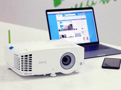 明基投影机:明基智能投影E530上市,2020年个人办公网课辅导必备