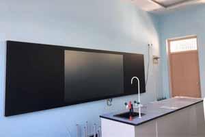 教育黑科技|GQY视讯&二师附小智慧纳米黑板项目