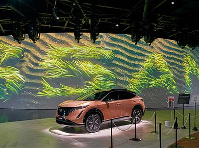 案例分享 | 丰富多彩的视频传递日产汽车的未来移动理念――日产汽车互动化体验馆Nissan Pavilion
