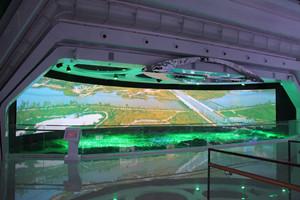 上海金属硬幕厂家 3D金属硬幕 画框幕布 快速折叠幕 纱幕 弧形幕布定制