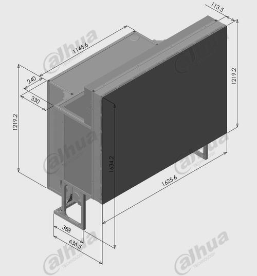 DLP-80寸SXGA单元