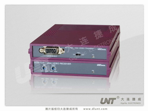 BOX-XTT-101 & BOX-XTR-101 VGA视频发送器 & 接收器
