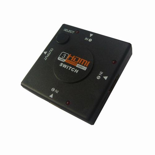 迷你3口HDMI切换器(方…