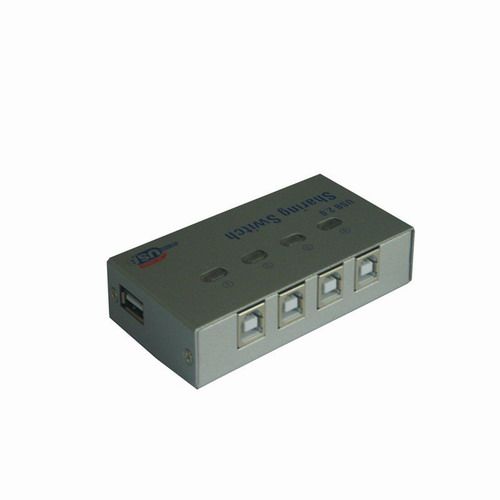 4口USB自动共享器UY-04…