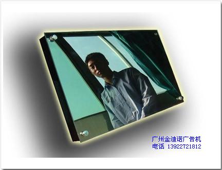22寸人体感应镜面高清广告机
