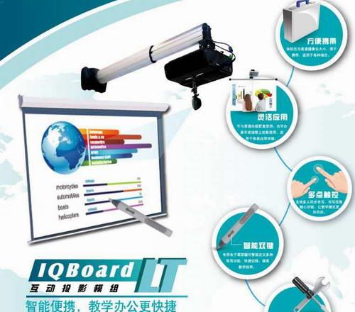IQBoard LTBX(多笔)互动投影模组