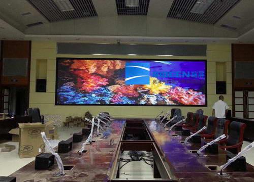 瑞屏高清智能DLP激光无缝大屏幕适用于各行业指挥监控及调度管理