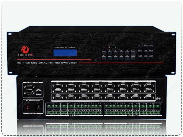 信控VGA矩阵切换器DIC-VGA1608A